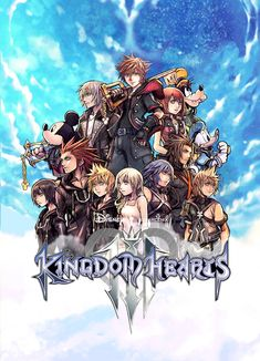 """bskipp: """"I still have mixed feelings about the composition of the cover art so I'm just going to keep making alternate versions """" my hand slipped and suddenly there's two alternate versions Kingdom Hearts Wallpaper, Kingdom Hearts Funny, Kingdom Hearts Fanart, Disney Kingdom Hearts, Final Fantasy, Kh 3, Cover Art, Game Art, Images"""