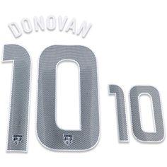 USA 2012/13 Donovan #10 Youth Away Name Set