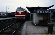 Bahnhof Zittau 1991,Hauptbahnhof Zittau,Grenzbahnhof Zittau