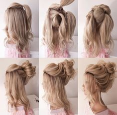 Blonde Bride, Trendy Hairstyles, Bridal Hair, Salons, Dreadlocks, Hair Styles, Beautiful, Beauty, Amazing