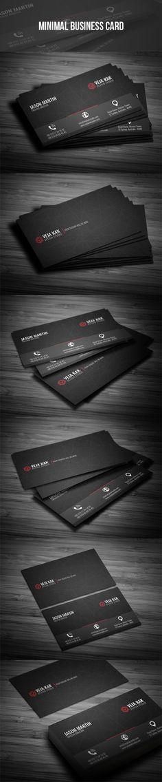 Minimal Business Card. Click here for more: https://graphicriver.net/user/vejakakstudio/portfolio