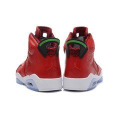 best cheap 9e0d5 16062 buy air jordan 6 mvp history of red leather green retro mens