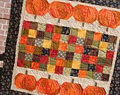 The Pumpkin Patch Table Topper Quilt Kit