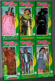 1976 ADVERT Wizard Of Oz Dolls Dorothy Scarcrow Coardly Lion Tinman Bad Witch