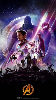 High Res Textless Infinity War Dolby Cinema Poster Avengers
