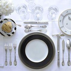 dresser une table - Dressage De Table A La Francaise