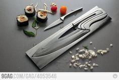 Knifeception, excellent gift idea!