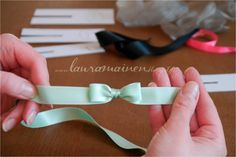 lauramainen: Täydellinen rusetti ~ the Perfect bow