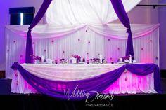 HeadTable Decor By Wedding Dreams