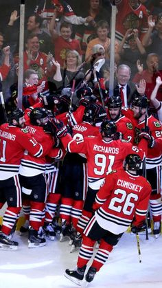 Hawks mob after win