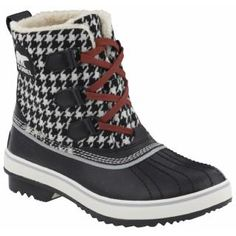 Take a look at this Black & Grout Tivoli Houndstooth Boot - Women by SOREL Women & Men on today! Alabama Football, Oklahoma Sooners, American Football, College Football, Bama Fever, Sorel Boots, Snow Boots Women, Duck Boots