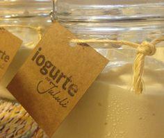 Iogurte grego artesanal sem açúcar serem gordura. E agora também com a opção sem lactose.