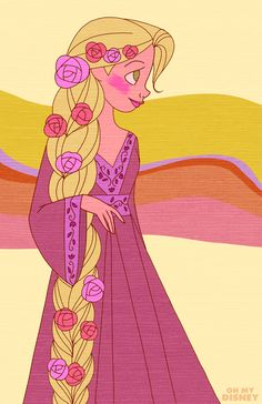 Right On! The Disney Princesses Have Gone Totally Retro | Retro | Oh My Disney