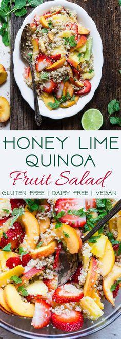 Honey Lime Quinoa Fr
