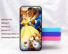 Beauty and Beast ,iPhone case,iphone 4/4s case iphone 5 case iphone 5s case,iphone 5c case,Samsung case on Etsy, $6.99