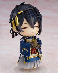 Nendoroid : Touken Ranbu -ONLINE- Nendoroid Action Figure Mikazuki Munechika 10 cm ( Good Smile Company )