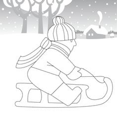 Winter Season, Kids Rugs, Symbols, Letters, Decor, Sporty, Cards, Embroidery, Winter Time