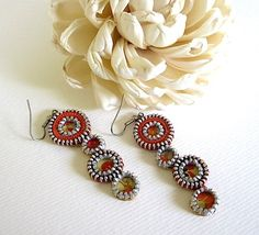 I love the name in this one - circle earrings