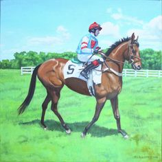 Race Day by Mike Roberts