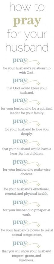 how to pray for your husband                                                                                                                                                     More