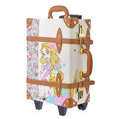 New Disney Store Japan Trolley Case/bag Happily Ever After Rapunzel Disney Luggage, Disney Tote Bags, Disney Handbags, Disney Purse, Cute Disney, Disney Style, Japanese School Bag, Mochila Jansport, Disney Store Japan