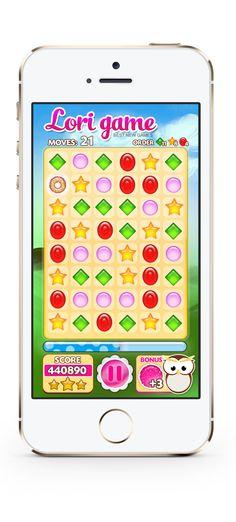 iphone game design koncept