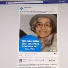Rosa parks, Equality and International day of on Pinterest