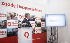 """Prezentacja spotu """"Wybierz zgodę i bezpieczeństwo"""". https://popieramkomorowskiego.pl"""