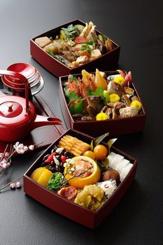 Osechi-ryori おせち料理 - Japanese special New Year meals