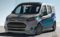 Now You're a Van, a Vanny, Vanny Van: 10 Awesome Ford Transit Connects for SEMA [2013 SEMA Show] - Photo Gallery of Auto Shows from Car and ...