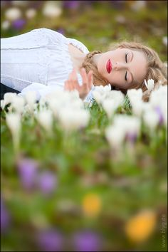 in fields of flowers... photo by Alex Blyg