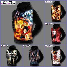 One Piece Printed Hoodies | 6 Desings #one #piece #anime #hoodie #merchandise www.animeprinthouse.com