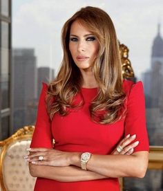 Our First Lady~ Melania Trump Melania Knauss Trump, Trump Melania, First Lady Melania Trump, Melania Trump Dress, Melania Trump Pictures, Milania Trump Style, Donald And Melania, First Ladies, Trump Is My President