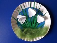 You are in the right place about kindergarten art projects lessons Here we offer you the most beauti Winter Crafts For Kids, Spring Crafts, Diy For Kids, Easter Art, Easter Crafts, Carpeaux, Kindergarten Art Projects, Paper Plate Crafts, Spring Art