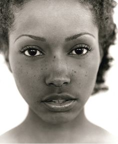 Beautiful black face.