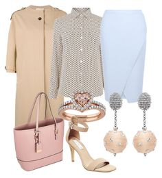 """pastel"" by glamheartcafe ❤ liked on Polyvore featuring Jil Sander, Oasis, Miss Selfridge, New Look, Oscar de la Renta and Steve Madden"