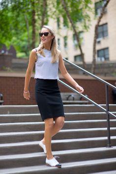 Resultado de imagen para oxford shoes and skirts