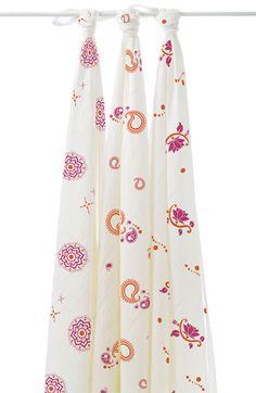 My fav blankets! aden + anais Bamboo Swaddling Blankets (3-Pack) | Nordstrom