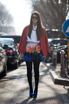 Carolines Mode   StockholmStreetStyle / Nicoletta