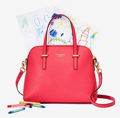 Kate Spade Spring 2015 - Mother's Day theme. Great concept highlighting the modern versaitile women who can multitask motherhood and fashion.