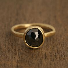 Black diamond ring cause everything needs to sparkle
