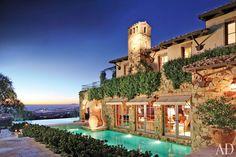 Georgian mansion in Westlake Village, California
