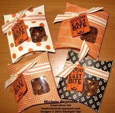 Merry Everything Halloween Pillow Boxes by Michelerey - Cards and Paper Crafts at Splitcoaststampers