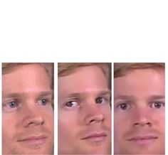Blinking guy breaks the wall Funny Reaction Pictures, Meme Pictures, Funny Photos, Meme Faces, Funny Faces, Blinking Guy Meme, Meme Template, Templates, Breaking The 4th Wall