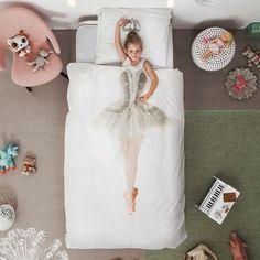 Het Snurk #ballerina #dekbedovertrek tovert ieder #kind om in een prima ballerina.