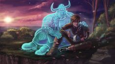 I miss you Dad. - How to Train your Dragon by GiuliaBokel on DeviantArt - I miss you Dad… by - Httyd Dragons, Dreamworks Dragons, Disney And Dreamworks, I Miss You Dad, Night Fury Dragon, Hiccup And Toothless, Dragon Rider, Dragon Pictures, Dragon Art