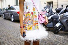 Ulyana Sergeenko Couture Fall Winter 2015 Paris - NOWFASHION
