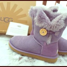 UNIQUE LIMITED EDITION Lilac Uggs Hard to part with these unique beauties, but they're not getting any use sitting in my closet. Like new. Authentic. Limited edition. Retail: 220 UGG Shoes Winter & Rain Boots