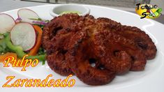 Grilling - Main Dish - Seafood - Pulpo Zarandeado Recipe (Mexican Grilled Octopus In Adobo Sauce)