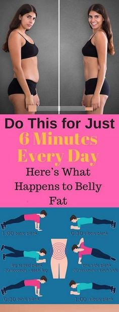 Workout Exercise Do This for Just 6 Minutes Every Day,Here's What Happens to Belly Fat The belly fat is that the hardest kind of fats to lose, and is additionally one among st the foremost dangerous ones. Fitness Workouts, Fitness Motivation, Sport Fitness, Fitness Diet, Yoga Fitness, At Home Workouts, Health Fitness, Sport Motivation, Ab Workouts